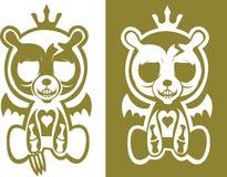 björnskalle Arkivfoto