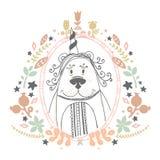 Björnvektorillustration Royaltyfria Foton