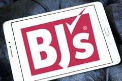 BJ ` s Hurtowy Świetlicowy logo zdjęcie royalty free