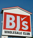 BJ's Wholesale Club sign Royalty Free Stock Photos