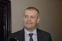 Bjarn Corydon财务大臣(r) 免版税库存照片