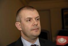 Bjarn Corydon财务大臣(r) 库存照片