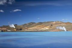 The Bjarnarflag Geothermal Power Station Stock Photos