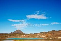 Bjarnarflag Mountain, Iceland Royalty Free Stock Photography