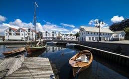 Bjekkjarvik - Austevoll dans Hordaland Norvège Images libres de droits