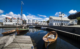 Bjekkjarvik, Austevoll w Hordaland Norwegia - Obrazy Royalty Free
