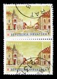 Bjelovar, serie croata das cidades (iii), cerca de 2007 imagens de stock royalty free