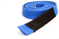 Bjj blue belt Royalty Free Stock Images