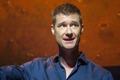 Bjoern Goerke levererar en adress för ATT UNDERMINERA konferensen den TechEd 2015 arkivbild