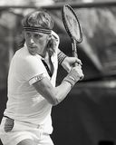 Bjorn Borg. Professional Tennis legend Bjorn Borg. Image taken from B&W Stock Photography