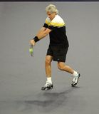 Bjorn Borg of Sweden in actions Royalty Free Stock Photos