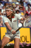 Bjorn Borg. Tennis legend Bjorn Borg. (Image taken from color slide royalty free stock photos