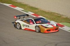 Bjorn Grossman Ferrari 458 utmaning Evo 2016 Arkivfoton