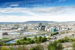 Bjorvika Oslo Norge Arkivbilder
