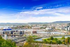 Bjorvika Oslo Norway Royalty Free Stock Photography
