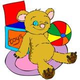 björnnalle Arkivfoton