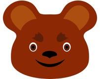 björntecknad film Arkivbild