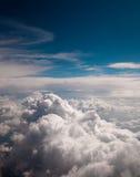 błękit chmurnieje niebo Obraz Stock