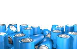Błękitna bateria Zdjęcie Stock