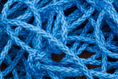 Błękitna nylonowa arkana Obraz Stock