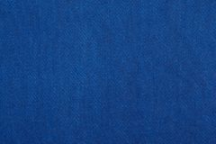 Błękitna tkaniny tekstura Zdjęcie Royalty Free