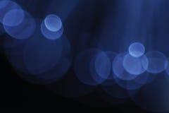 Błękitni rozblaskowi światła Obrazy Royalty Free