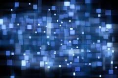 Błękitny Abstrakcjonistyczny Tło Zdjęcia Stock