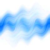 Błękitny abstrakcjonistyczny tło Fotografia Stock