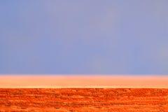 błękitny drewno Zdjęcia Stock