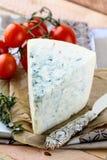 błękitny sera kawałek Fotografia Royalty Free