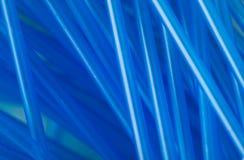 Błękitny ucho wtyka abstrakcję Zdjęcia Royalty Free