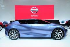 BKK - 11月28日:日产朋友我,概念汽车,在Thail的显示 免版税库存图片