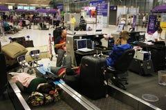 BKK airport closure Royalty Free Stock Photos
