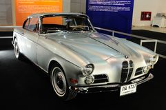 BKK - NOV 28: BMW 503 coupe, Classic 2 door convertible car,on d Stock Photos