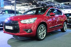 BKK - NOV 28: The Citroen DS4 on display at Thailand Internation Stock Photos