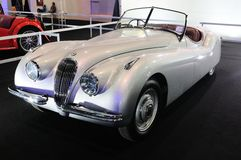 BKK - NOV 28: Jaguar XK120 roadster, Classic 2 door convertible Stock Image