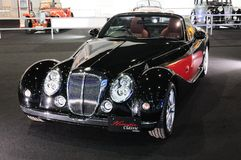BKK - NOV 28: Mitsuoka Himiko, Vintage design car, on display at Royalty Free Stock Photography