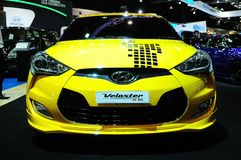 BKK - NOV 28: Modified Hyundai Veloster on display at Thailand I Royalty Free Stock Image