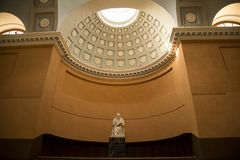 BlÃ¥senhus inside rzeźba Obrazy Royalty Free