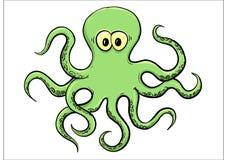 bläckfisk stock illustrationer