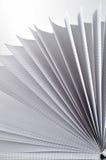 Bläddrad matematikanteckningsbok Arkivfoto