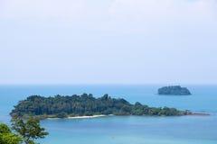 Blända sikter av ön Royaltyfri Fotografi
