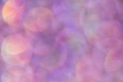 Blänka bubblaBokeh bakgrund Royaltyfria Bilder