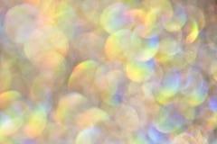 Blänka bubblaBokeh bakgrund Arkivbild