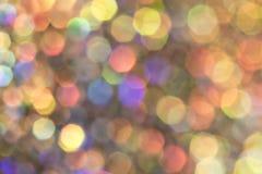 Blänka bubblaBokeh bakgrund Royaltyfri Fotografi