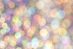 Blänka bubblaBokeh bakgrund Royaltyfri Foto