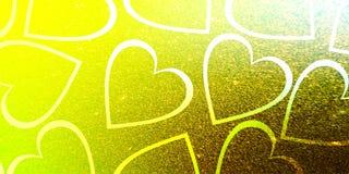 Blänka förälskelse för dagen för valentin för valentinbakgrundshjärta royaltyfri illustrationer