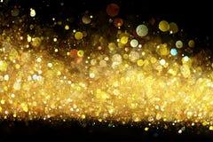blänka guld Fotografering för Bildbyråer