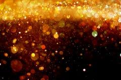 blänka guld Arkivfoton