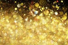 blänka guld Arkivbilder